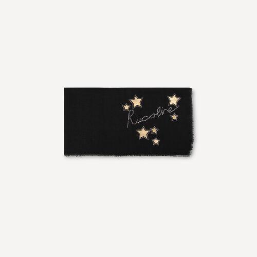 Greta 9543 Foulard Written Star